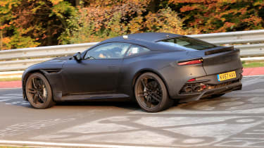 Aston Martin Vanquish Nurburgring – rear quarter
