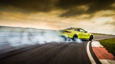 BMW M4 Competition Sao Paulo on track – cover
