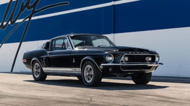 Shelby Mustang – front