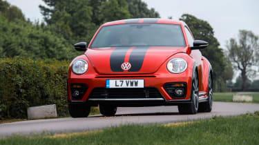 Volkswagen Beetle R-Line cornering front