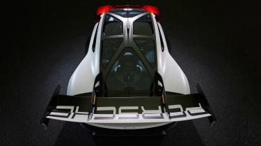 Porsche Mission R – top