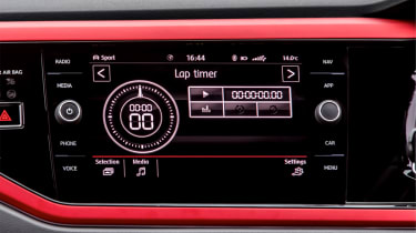 Volkswagen Polo 6 GTI - infotainment