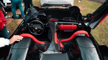 Ferrari Monza SP2 Goodwood FoS interior high