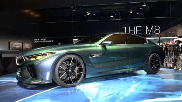BMW M8 Concept - show front