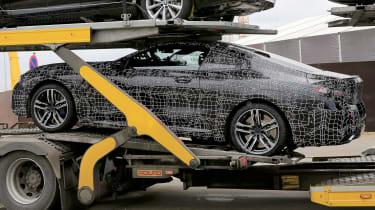 BMW 8-series spy - truck