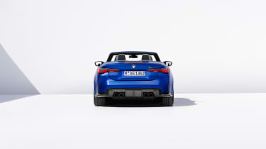 BMW M4 Competition Convertible –rear