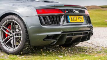 Audi R8 Spyder – rear