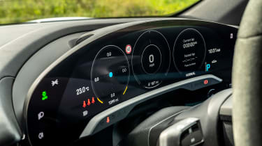 Porsche Taycan 2021 review - 4S dials