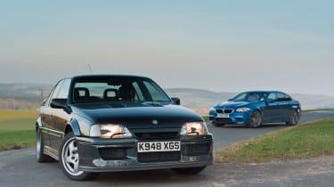 BMW M5 vs Lotus Carlton