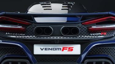 Hennessey Venom F5 exhausts