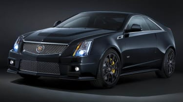 Cadillac CTS-V coupe Black Diamond Edition
