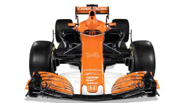 McLaren F1 car front