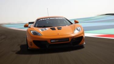 McLaren 12C GT Sprint edition on track
