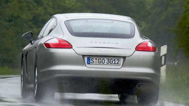 Porsche Panamera V6 rear corner