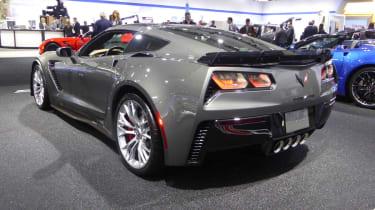 Chevrolet Corvette Z06 coupe grey rear
