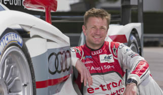 Allan McNish Audi Le Mans 24-hour car