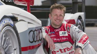 Allan McNish Audi Le Mans 24-hour car