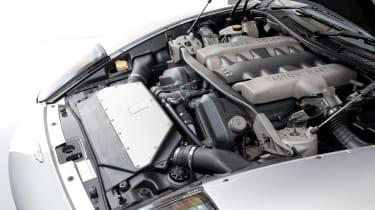 Aston Martin V12 Vanquish engine