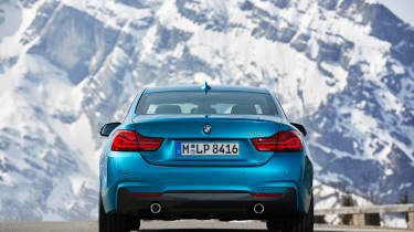 2017 BMW 4 Series Coupe - Rear