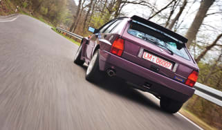 Lancia Delta Integrale Evo 3 rear driving