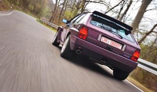 Lancia Delta Integrale Evo 3 rear driving