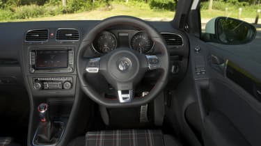 VW Golf GTI interior