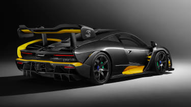 McLaren Senna MSO – rear quarter