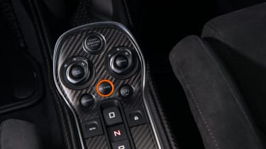 McLaren 570S Track Pack - centre console