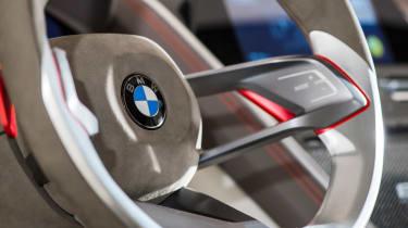 BMW 8-series concept - steering wheel