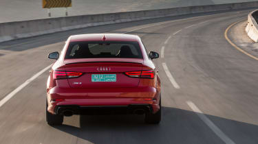 Audi RS3 Saloon Red rear 1