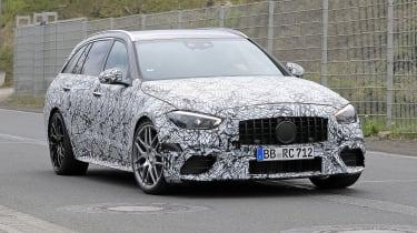 2022 Mercedes-AMG C63 S Estate – front quarter