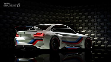 BMW Vision Gran Turismo racing car