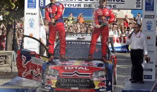 Sebastien Loeb Citroen C4 WRC