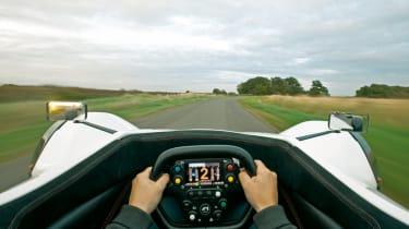 BAC Mono F1 cockpit