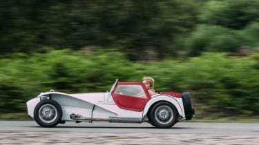 Lotus Seven SS Twin Cam - Side