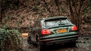 Bentley Bentayga Diesel - rear off roading