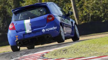 Ash Miller budding racing driver blog Renault Clio Cup
