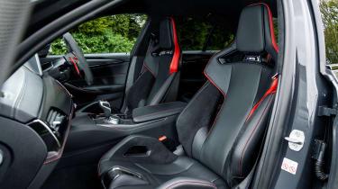 BMW M5 CS – seats
