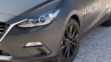 Mazda Skyactive X prototype - detail