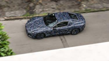 2021 Maserati GranTurismo spy – top