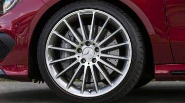 2013 Mercedes CLA45 AMG alloy wheel