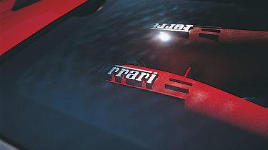 Ferrari Spider engine