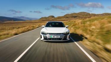 Audi e-tron GT quattro – tracking