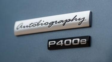Range Rover P400e PHEV badge