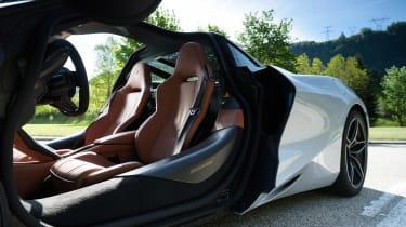 McLaren 720S in Italy - interior