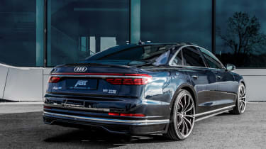 Audi A8 Abt - rear quarter