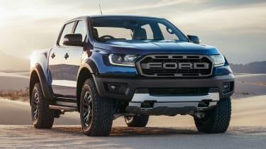 2018 Ford Ranger Raptor  – front quarter
