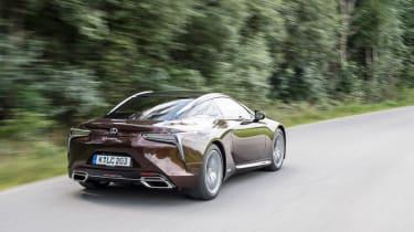 Lexus LC500h - rear quarter 2