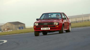 Audi Quattro - Sport sliding