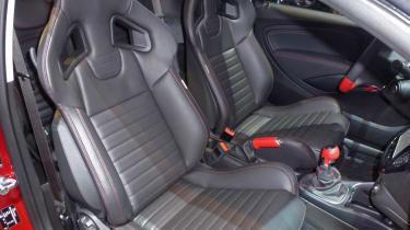 Vauxhall Adam S Recaro sports seats